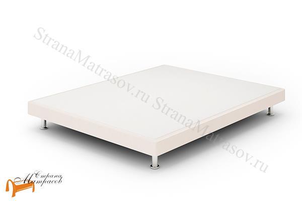 Lonax Кровать Box Mini с основанием , березовая фанера, экокожа, коричневый, белый, черный, бежевый
