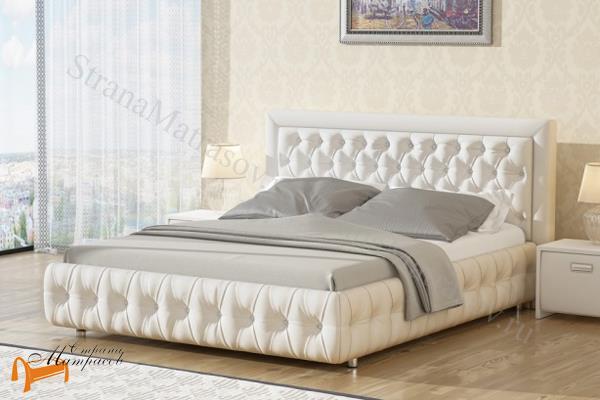 Орматек Кровать Como 6 с подъемным механизмом , экокожа, ткань, рогожка, велюр, золото, олива, белый, чёрный, кремовый, бежевый, коричневый, зеленый, ящик