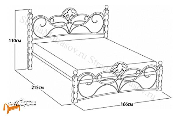 Орматек Кровать Garda 2R с основанием