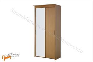 Орматек - Шкаф 2-х дверный - купе Эконом (глубина 450мм) с 1 зеркалом