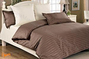 Орматек -  Комплект постельного белья Gravity Страйп-сатин Hot Chocolate