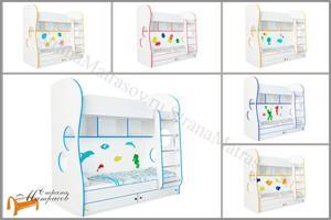 Орматек - Кровать Соната Kids (для мальчиков и девочек) с основанием и ящиками