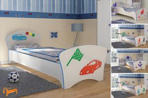 Орматек - детская кровать Соната Kids (для мальчиков) с основанием