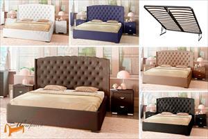Орматек - Кровать Dario Slim Lite с подъемным механизмом