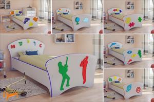 Орматек - Детская кровать (подростковая) Соната Kids (для мальчиков и девочек) с основанием