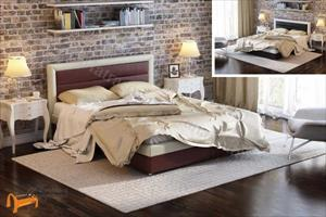 Орматек -  Кровать двуспальная Life 2 с основанием (Лайф 2)