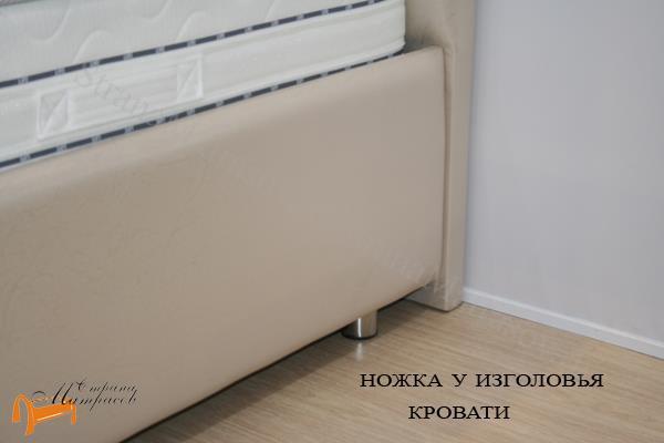 Орматек Кровать Como 1 с подъемным механизмом , ножки