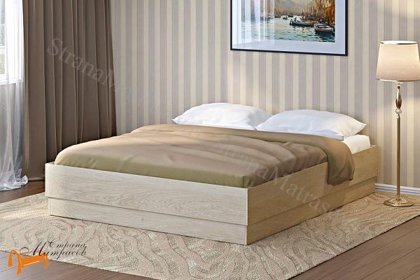 Орматек Кровать Короб с бортами с подъемным механизмом , лдсп, белый, черный, венги, шамони, бавари, орех, гварнери