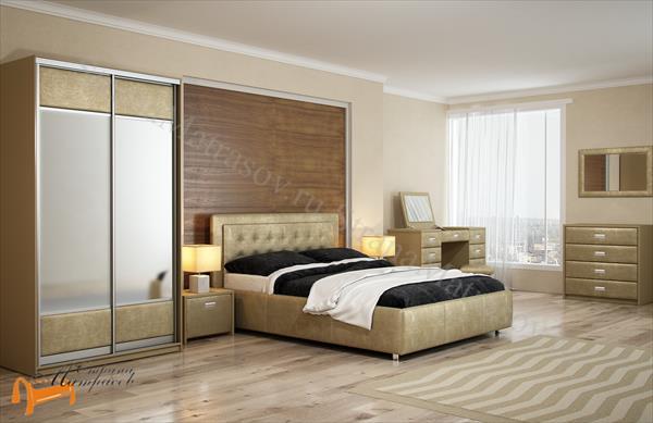 Орматек Шкаф 2-х дверный купе Orma Soft 2 (экокожа, ткань, зеркало) (глубина 600мм) , шкаф 1188 мм, с зеркалом, орма софт, экокожа, ткань, зеркало,  рогожка, велюр, белый, черный, кремовый, бежевый, коричневый, золотой, жемчуг, крокодил, рыжий, зеленый, олива,