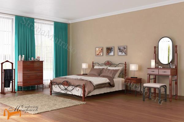Орматек  с банкеткой Garda 2R , металл, гарда, дерево гевеи, дерево березы, белая, венги, коричневая, орех