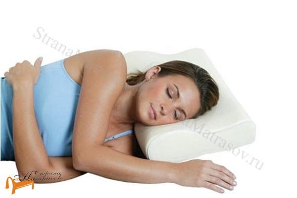 Орматек Подушка Лайт 37 x 50см , девушка, подушка