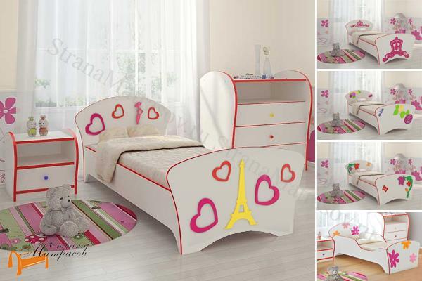 Орматек - детская кровать Орматек Соната Kids (для девочек) с основанием