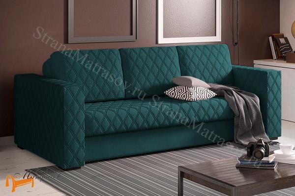 Орматек Диван Ergonomic Ambition (софа) (с ортопедическим матрасом) , мягкая мебель, велюр, раскладывается, тип раскладушка, зеленый, белый, кремовый, желтый, черный, коричневый, лимонный, бежевый, красный, голубой