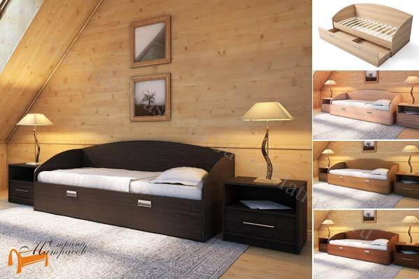 Орматек - детская кровать Орматек (подростковая) Этюд Софа Плюс с основанием и ящиком