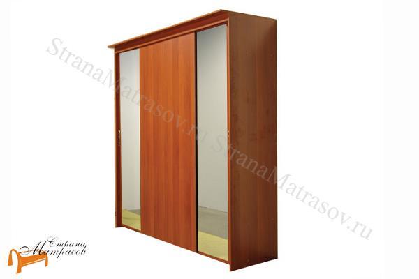 Орматек -  Шкаф-купе Эконом 4-х дверный (глубина 600мм) с 2 зеркалами