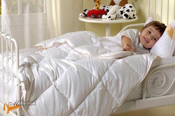 Орматек Одеяло детское Baby Dreams , одеяло  детское, искусственный лебяжий пух, для детей от года, можно стирать в машине