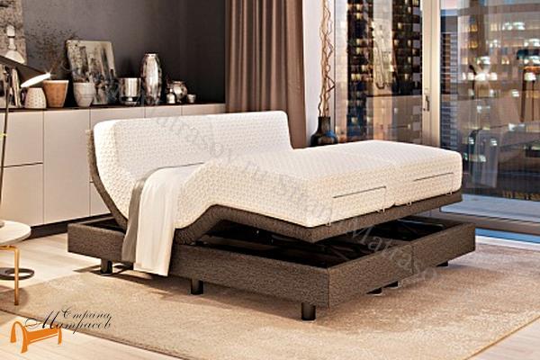 Орматек Кровать трансформируемая Ormatek Smart Bed  + режим массаж + пульт + основание , трансформирующая кровать, трансформирующие основание, меняет изгиб, поднимается изголовье изножье, Смарт Бед, основание на пульте