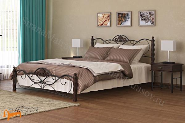 Орматек Кровать Garda 2R с основанием , металл, гарда, дерево гевеи