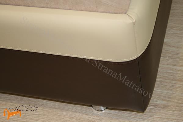 Орматек  Como 5 с подъемным механизмом , экокожа, цвет бежевый, коричневый