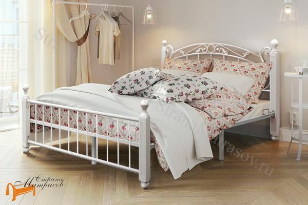 Орматек Кровать Garda 5R с основанием , гарда 5Р, массив березы, металл,двуспальная кровать, белый , венге, коричневый