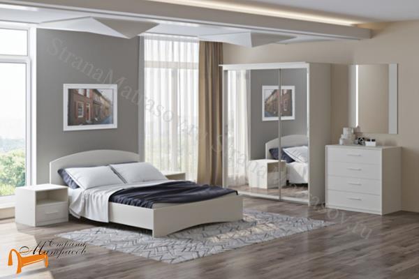 Орматек Кровать Этюд с подъемным механизмом  , лдсп, белый, белая