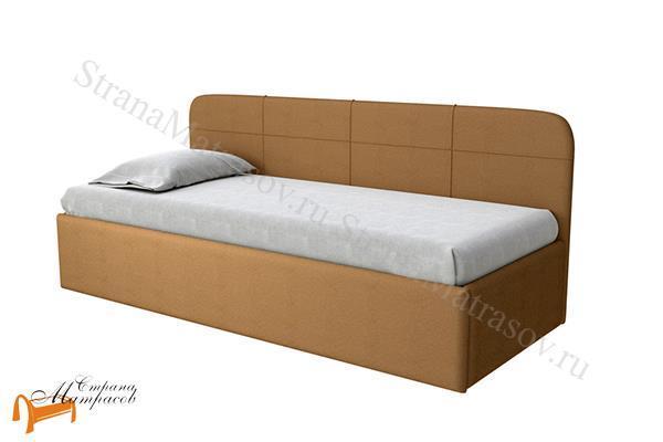 Райтон Кровать Life Junior софа с подъемным механизмом , джуниор, лайф, белый, коричневый, черный, бежевый, ткань, экокожа