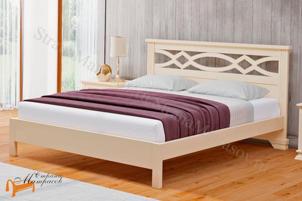 Райтон Кровать Nika М - тахта с подъемным механизмом , ника, массив, на ножках, подъемный механизм, венге, красный, белый, слоновая кость