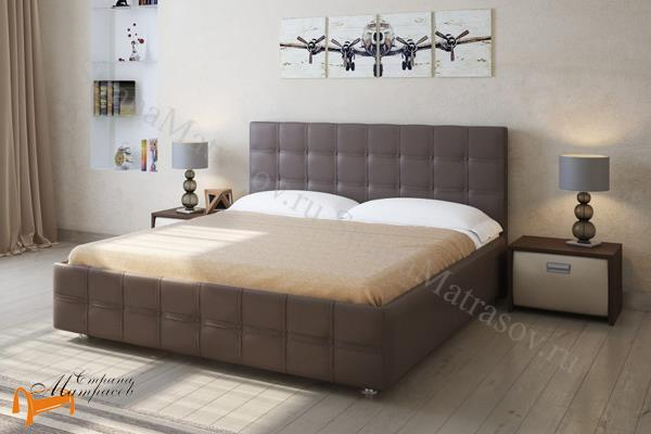 Райтон Кровать Life Box 3 с боковым подъемным механизмом , лайф бокс, экокожа, ткань, рогожка, велюр, золото, олива, белый, чёрный, кремовый, бежевый, коричневый, зеленый, красный, ящик, стразы