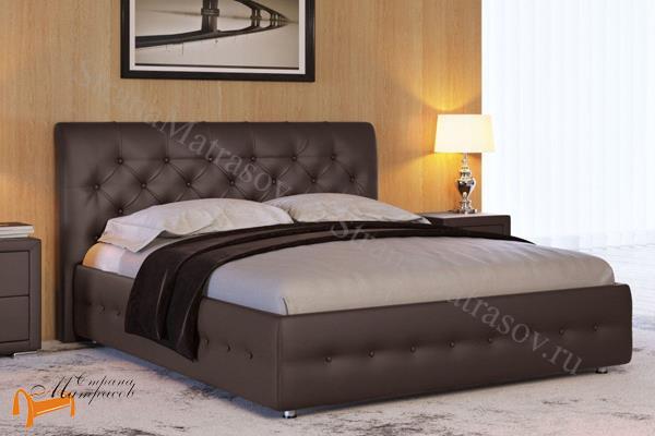 Райтон Кровать Life Box 4 с подъемным механизмом , экокожа, кровать лайф бокс, черный,    бежевый,  коричневый, белый, Caiman Croco, Sprinter Pearl, Sprinter Gold, золотой, жемчуг, серый, кремовый,ткань, рогожка, ящик