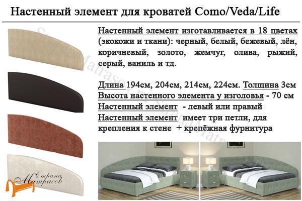Райтон Детская кровать (подростковая) Life 3 с основанием , экокожа, кровать лайф бокс, черный,    бежевый,  коричневый, белый, Caiman Croco, Sprinter Pearl, Sprinter Gold, золотой, жемчуг, серый, кремовый,ткань, рогожка, ящик