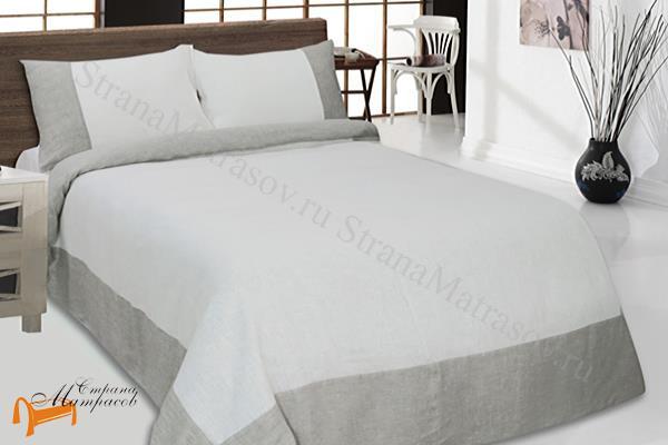 Райтон -  Райтон Комплект постельного белья Лён Aura Евро 200х220см (РАСПРОДАЖА)