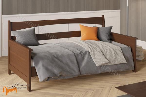 Райтон Кровать Марсель-софа с основанием , массив, деревянный, ортопедическое основание