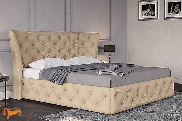 Райтон Кровать Life Box 5 с подъемным механизмом , экокожа, кровать лайф бокс, черный,   бежевый,  коричневый, белый, Caiman Croco, Sprinter Pearl, Sprinter Gold, золотой, жемчуг, серый, кремовый,ткань, рогожка