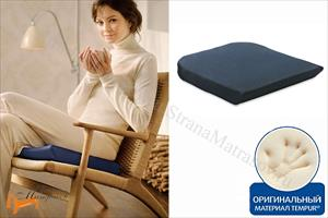 Tempur (Дания) - Подушка на сиденье Seat Cushion 40 х 42см (стула, кресла)