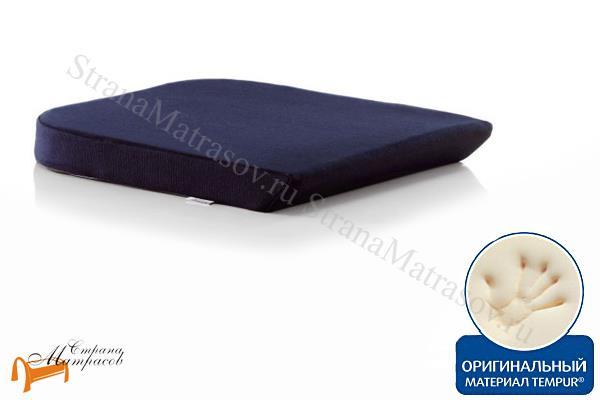 Tempur (Дания) Подушка на сиденье Seat Cushion 40 х 42см (стула, кресла) , Сид Кюушен, темпур, материал с эффектом памяти, для машина, для авто