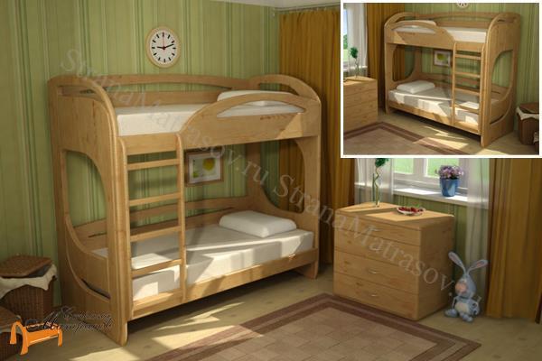 Торис - детская кровать Торис двухъярусная Миа 3 и Миа 4