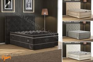 Verda - Кровать Style с основанием Basement, уменьшенное изголовье