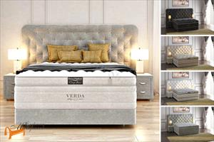 Verda - Кровать Cloud с основанием Podium M