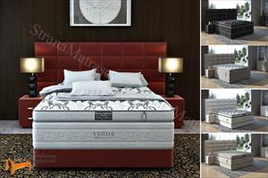 Verda - Кровать Chocolate с основанием Podium M