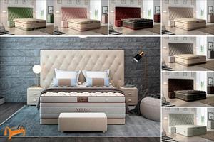 Verda - Кровать Luxe с основанием Basement