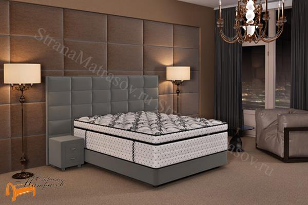 Verda Кровать Chocolate с основанием Podium M , спальная система Верда, шоколад, серый, белый, графит,