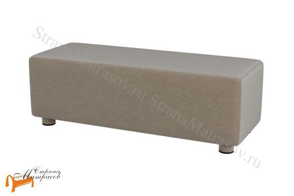 Verda  Прикроватная ступень Verda (пуф) , спальная система Верда, пуф, пуфик, серый, белый, графит, черный