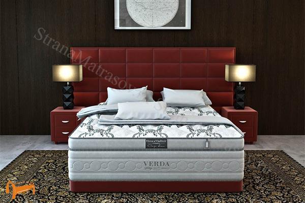 Verda Кровать Chocolate с основанием Basement , спальная система Верда, шоколад, серый, белый, графит