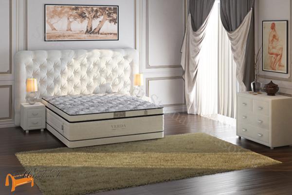 Verda Кровать Cloud с основанием Basement , спальная система клауд, шоколад, серый, белый, графит,