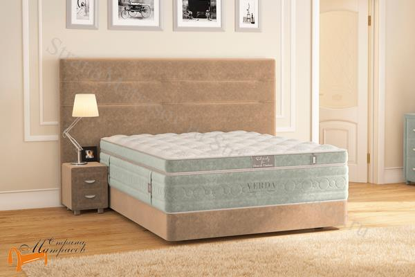 Verda Кровать Modern с основанием Podium M , спальная система modern, verda, podium,  шоколад, серый, белый, графит, черный, красный, зеленый