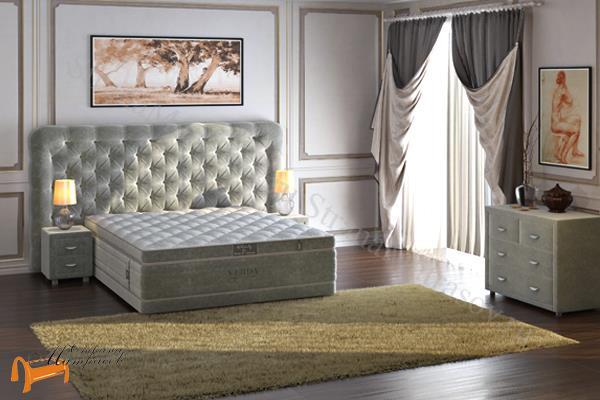 Verda  Cloud с основанием Basement , спальная система клауд, шоколад, серый, белый, графит,