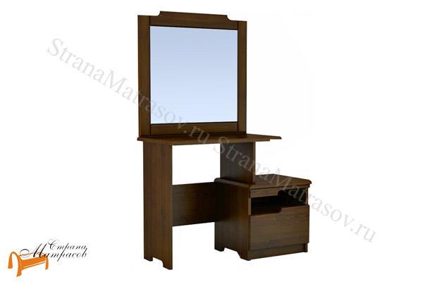 DreamLine  туалетный Бельфор с зеркалом , деревянный, белый, коричневый, золотая патина, оранжевый