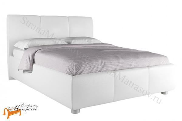 Infiniti Кровать Promo с подъемным механизмом и ящиком , мягкая, подъемный механизм, ортопедическое основание, белый, бежевый, ткань