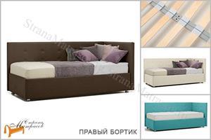 Perrino - Кровать София (правая) с основанием