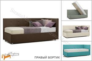 Perrino - Кровать София (правая) с подъемным механизмом